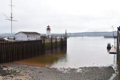 Un vecchio porto nel Canada Immagine Stock Libera da Diritti