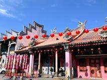 Un vecchio tempio cinese Fotografia Stock Libera da Diritti
