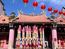Un vecchio tempio cinese Fotografia Stock