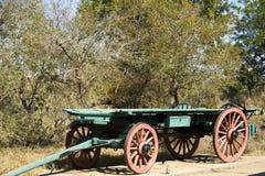 Un vecchio vagone del bue Fotografia Stock Libera da Diritti