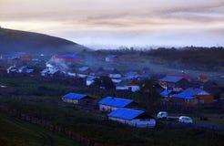 Un vecchio villaggio singolare Fotografia Stock Libera da Diritti