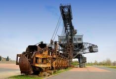 Un vecchio zappatore del carbone Fotografia Stock
