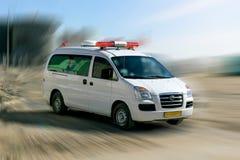 Un vehículo con la señal especial Fotos de archivo