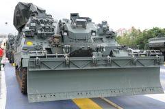 Un vehículo de ingeniero acorazado militar fotos de archivo libres de regalías
