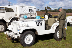 UN vehicles Royalty Free Stock Photography