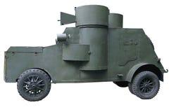 Un veicolo blindato di due torri Fotografia Stock Libera da Diritti