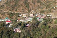 Un vellige tipico di garwali di uttrakhand immagine stock libera da diritti