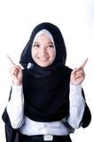 Un velo de la mujer del país de Indonesia Imagen de archivo