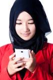 Un velo de la mujer del país de Indonesia Fotografía de archivo