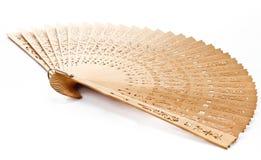 Un ventilador de la mano Imagen de archivo libre de regalías