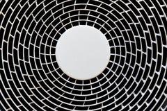 Un ventilador de ventilación industrial Fotografía de archivo