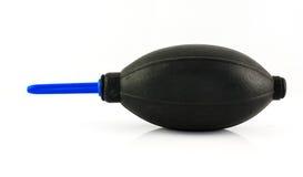 Un ventilador negro Fotos de archivo libres de regalías