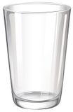 Un verre à boire illustration stock
