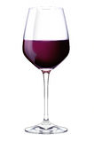 Un verre de vin rouge photographie stock