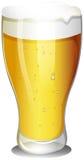 Un verre de bière froide illustration libre de droits