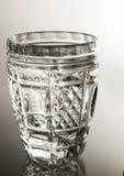 Un verre de Chrystal de vodka Images stock