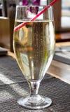 Un verre de cidre Photo stock