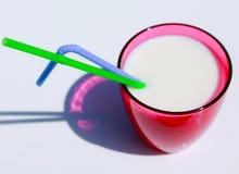 Un verre de lait Photo libre de droits