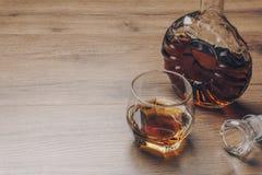 Un verre de whiskey de bourbon photo libre de droits