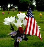 Un veterano ricordato Fotografia Stock Libera da Diritti