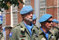 UN Veterans stock image