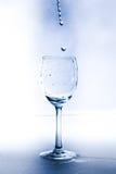 Un vetro con acqua Fotografie Stock Libere da Diritti