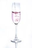 Un vetro delle bevande Fotografia Stock