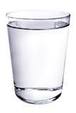 Un vetro di acqua Fotografia Stock