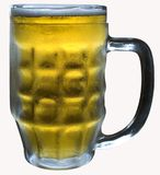 Un vetro di birra Fotografia Stock