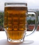Un vetro di birra Immagini Stock