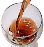 Un vetro di brandy Fotografie Stock Libere da Diritti