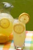 Un vetro di limonata fotografia stock libera da diritti