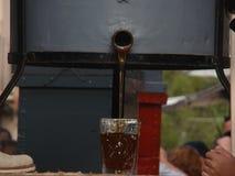 Un vetro di miele Immagini Stock