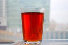 Un vetro di tè Fotografie Stock