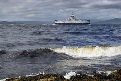 Un viaggio con il traghetto Fotografie Stock