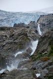 Un viaje en Folgefonna en Noruega Fotos de archivo libres de regalías