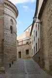 Un vicolo a Toledo. Fotografie Stock