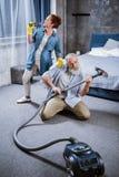 un vide plus propre de couples Image libre de droits