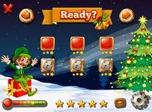 Un video gioco per il Natale royalty illustrazione gratis