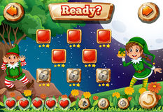 Un videogioco Fotografie Stock