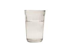 Un vidrio con agua Fotografía de archivo libre de regalías