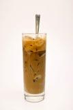 Un vidrio de café helado de la leche Imagenes de archivo
