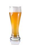 Un vidrio de cerveza Imagenes de archivo