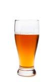Un vidrio de cerveza Fotografía de archivo libre de regalías