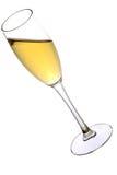 Un vidrio de champán Fotos de archivo