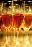 Un vidrio de champán Fotos de archivo libres de regalías