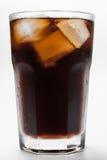 Un vidrio de cola Imagen de archivo libre de regalías