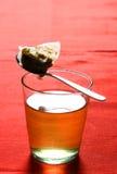 Un vidrio de té caliente medicinal Imagen de archivo