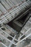 Un vieil escalier Photo stock