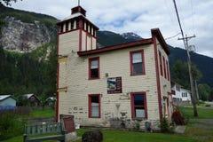 Un vieil hôtel de ville chez Stewart Images libres de droits